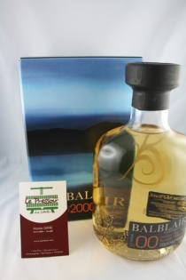 BALBLAIR 1997  70CL  46pourcent SINGLE MALT