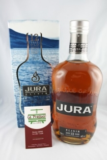 JURA ELIXIR 12 YEARS 70CL 46pourcent SINGLE MALT IODE TOURBE
