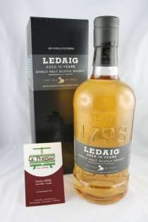 LEDAIG 10 YEARS 70CL 46.3pourcent SINGLE MALT MULL  ISLE