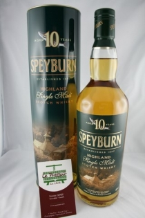 SPEYBURN 10 ANS  70CL 40pourcent SINGLE MALT