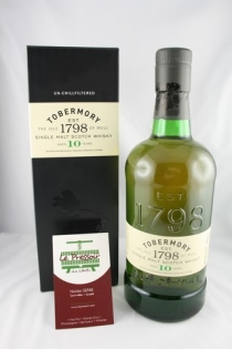 TOBERMORY 10 YEARS  70CL  46.3pourcent
