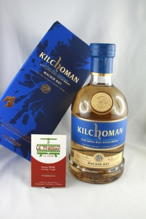 KILCHOMAN 70CL 46pourcent SINGLE MALT IODE TOURBE