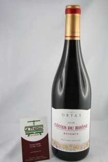 RESERVE ORTAS 75CL 2010  13.5% CAVE DE RASTEAU