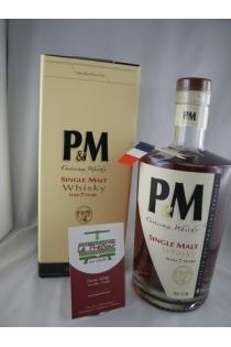 PM SINGLE MALT 7 ANS 42° 70CL CORSE