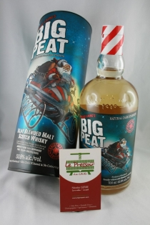 BIG PEAT 2015 Christmas 70CL 53.8%  TRES TOURBE BLENDED ISLAY