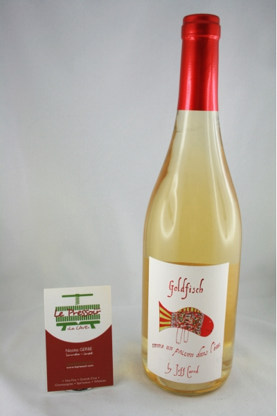 GOLDFISH RIESLING 2014  75CL  14pourcent BJEFF CARREL