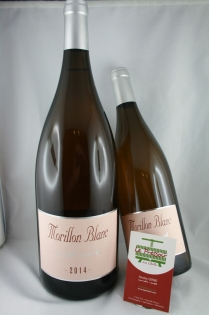 MORILLON 1.5L BLANC 2014  14pourcent  JEFF CARREL