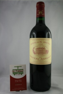 PAVILLON ROUGE DE CHÂT. MARGAUX 75CL 1998 12.5pourcent