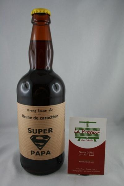 SUPER PAPA 50CL 7.3pourcent BRUNE DE CARACTERE  UBERACH