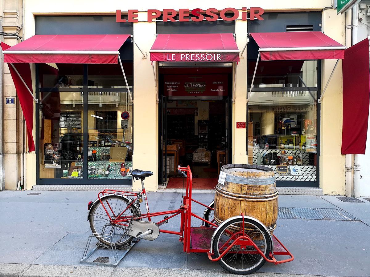 cave à vins le pressoir Lyon